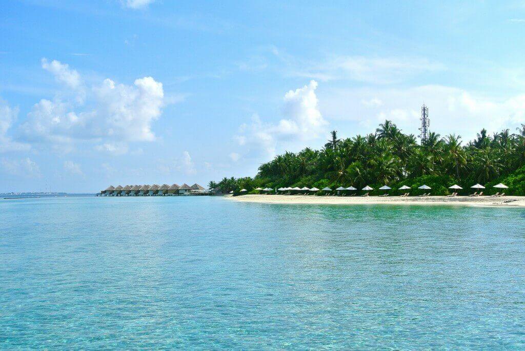 Maldivische Insel
