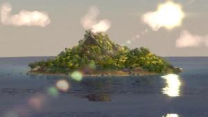 Unrealle Insel